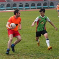 Gaelic football alive and kicking in Taipei