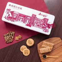 義美83週年紀念款禮盒      復刻傳統糕點漫遊台北城