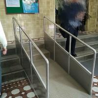 每日一圖:台大醫院無障礙設施 特殊設計引發熱議
