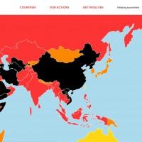 Taiwan ranks top in Asia in media freedom