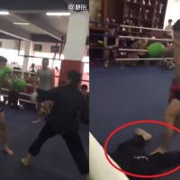 Farce of fury: Boxer KO's 'Wudang kung fu master' in 7 seconds flat