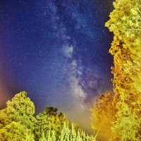 Photo of the Day: Milky way in the night sky