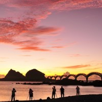 Eight-arch bridge at Sanxiantai on Taiwan's east coast to be closed for 3.5 months