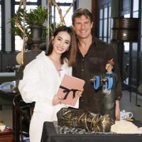 Jolin Tsai baked mummy cake for Tom Cruise