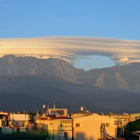每日一圖:雨過天晴 屏東大武山現「千層派」奇雲