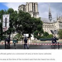 巴黎聖母院襲警案 40歲兇嫌高喊「這是為了敘利亞!」