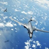 美轟炸機B-1B飛越南海 中國抗議