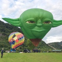 Photo of the Day: Yoda levitates in Taiwan
