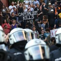 反資本主義 G20前夕漢堡暴動