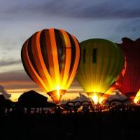 International balloon festival lights up eastern Taiwan