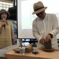土與火的舞蹈 工藝中心展出柴燒紫砂陶藝