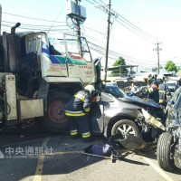 Runaway cement truck in Taipei kills 3 and injures 9
