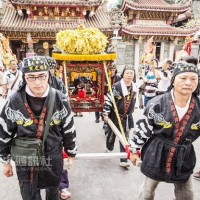 Daoist deities take to the streets for a protest march in Taiwan