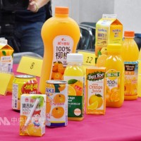 消基會抽驗柳橙汁 逾6成糖分標示不符