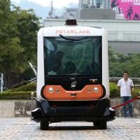 Driverless minibus to begin test run on Taipei street in August