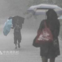 新竹以北豪雨特報 多區一級淹水警戒