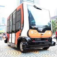 Self-Driving Shuttle Bus EZ10 completes road tests in Taipei
