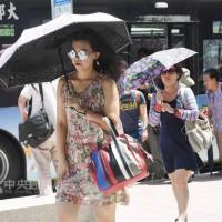 未來一周全台灣高溫炎熱 北部可達37度