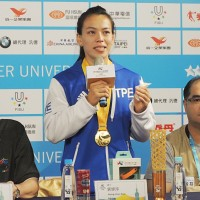 Taiwanese weightlifter Kuo receives NT$1 million for world record