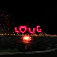 Fun on the riverside--Lover's Day fireworks and concert at Dadaocheng on August 26