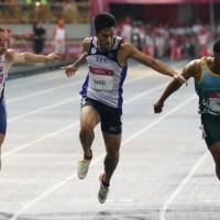 Taiwan's Yang Chun-han grabs gold in Universiade 100 m
