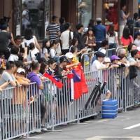 世大運》台灣英雄車隊大遊行 沿路受到民眾歡迎