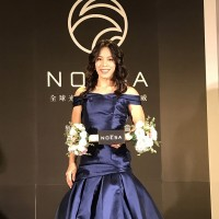 Taiwan's weightlifting champion moonlights to endorse luxury care products