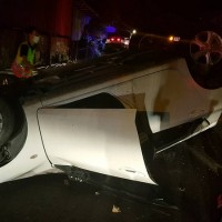 Seriously injured drunk driver snores his way through rescue operation after car crash in central Taiwan