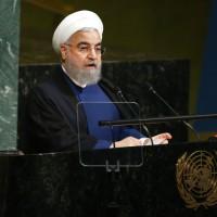 川普批伊朗是流氓 羅哈尼聯合國演說反擊