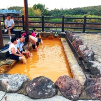 Take a dip in Jinshan's 'golden hot spring'