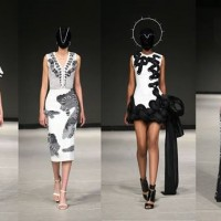 Taiwanese designer showcases fashion inspired by 100 pacer viper