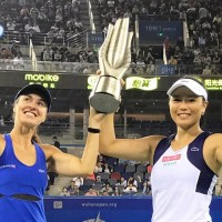 Hingis and Taiwan's Chan capture third straight title at Hunan