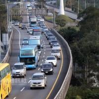 國慶連假結束倒數 國道北返車潮預計午後湧現