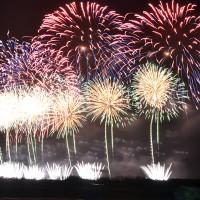 國慶焰火秀 台灣首次施放24吋焰火