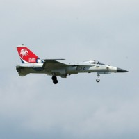 Brake trouble for fighter jet causes delays at Taiwan airport
