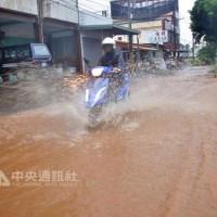 Rain disrupts Taiwan's power supply