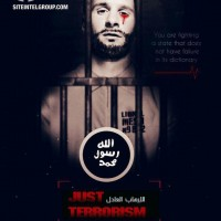 ISIS targets Russia in a series of chilling posters which also feature Messi in tears of blood