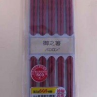 美耐皿餐具抽查 中國製筷子驗出甲醛