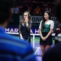Taiwanese tennis star Chan Yung-jen: It's hard to say goodbye to Hingis, the perfect partner