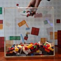 二手玩具也能做公益 新竹豐邑喜來登用樂高積木為新竹增色