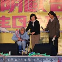 台獨人士史明慶百歲 蔡英文現身祝賀