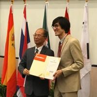 American student wins Mandarin speech contest in Taipei