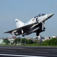 Taiwan Air Force Mirage jet disappears over water