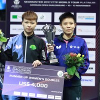 Japanese duo emerged victory over Taiwanese duo at German table tennis tourney