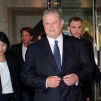美前副總統高爾低調訪台 對Gogoro員工演講