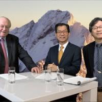 李應元接受德電視台專訪 籲國際支持台灣參與氣候談判