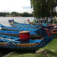 Taiwanexpats in South Africa celebrateDragon Boat Festival in November