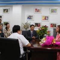 納卯市長杜特蒂: 將全力協助義美於當地招工