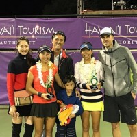Hsieh sisters wins Hawaii Open Women Doubles champion title