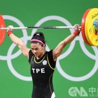 Taiwan's weightlifter Hsu Shu-ching wins silver in women's weightlifting